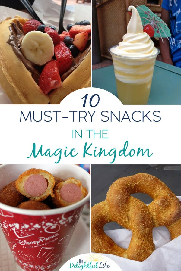 Heading to Walt Disney World soon? Whether you're on the Disney Dining Plan or just looking for good snacks in the Magic Kingdom, we've got the list! From the classic Mickey Bars and Popcorn on Main Street USA to hidden gems, we've got you covered. #DisneyParks #DisneyWorld #WaltDisneyWorld #DisneyDiningPlan #MagicKingdom