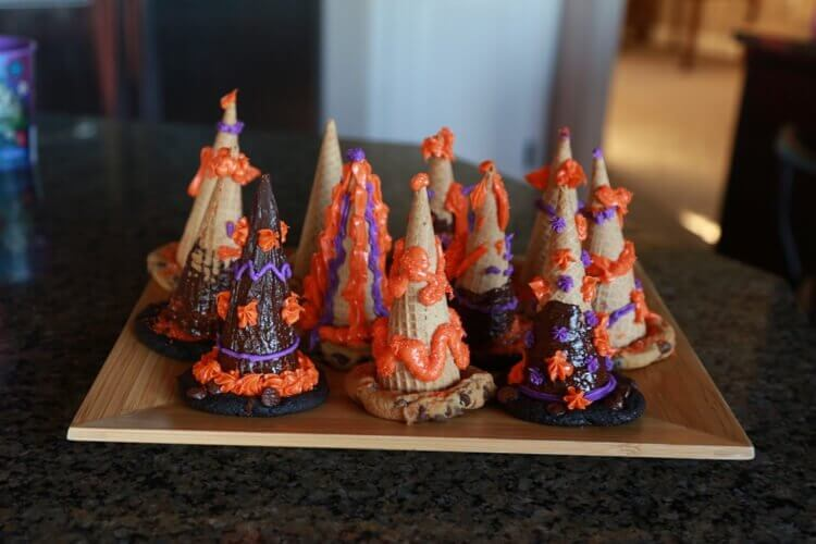 adorable witches hat treats for halloween