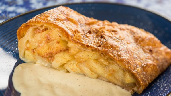 Apple Strudel from Epcot's Germany Pavilion