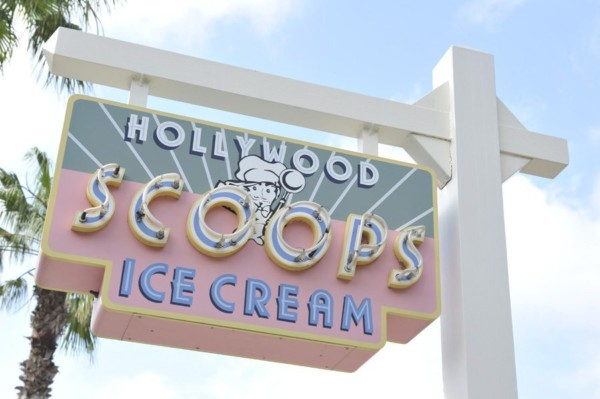 hollywood studios ice cream