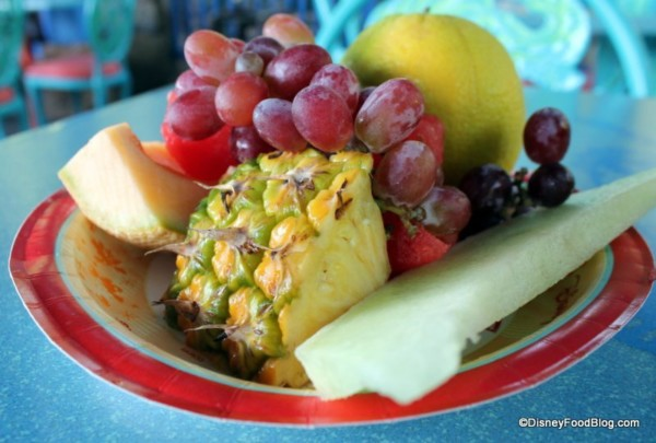 animal kingdom fruit plate