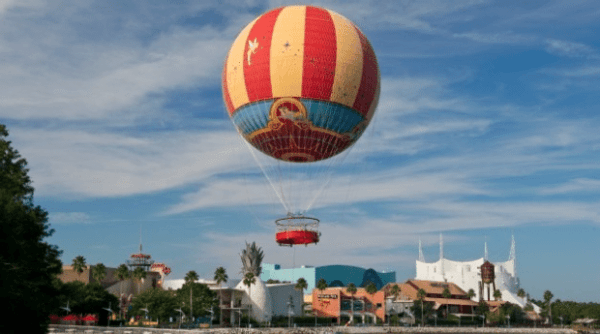 Characters in Flight gives you a birds-eye view of Walt Disney World