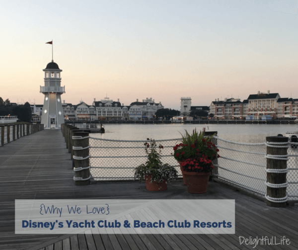 Disney's Yacht Club and Beach Club resorts
