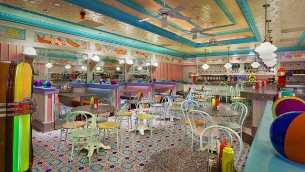Disney's Beaches and Cream Soda shop