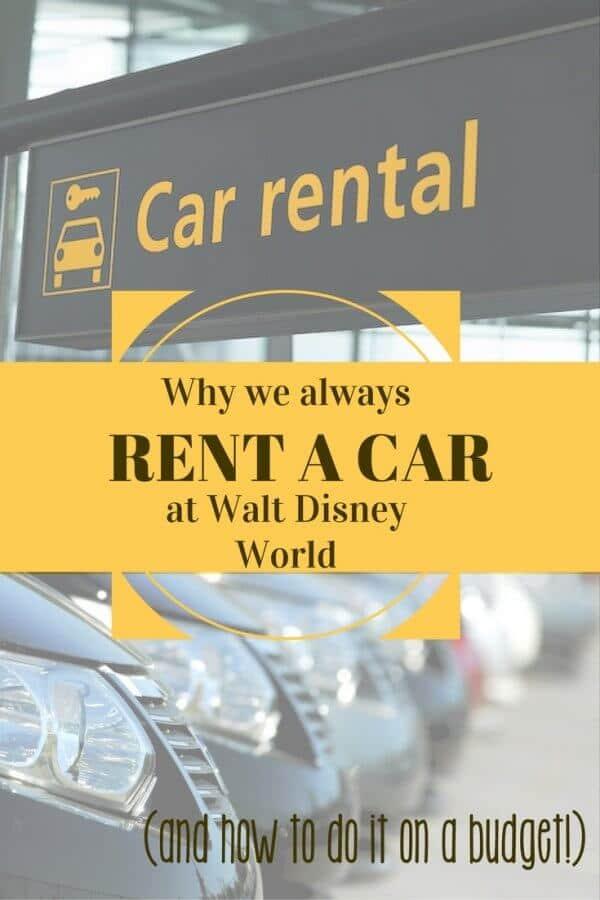 rent a car at walt disney world on a budget delightful life. Black Bedroom Furniture Sets. Home Design Ideas