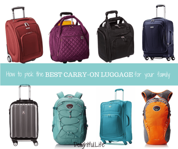 Best Carryon Luggage for Families