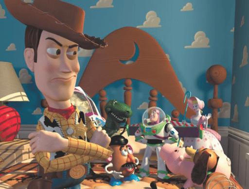 Woody was originally not so nice...