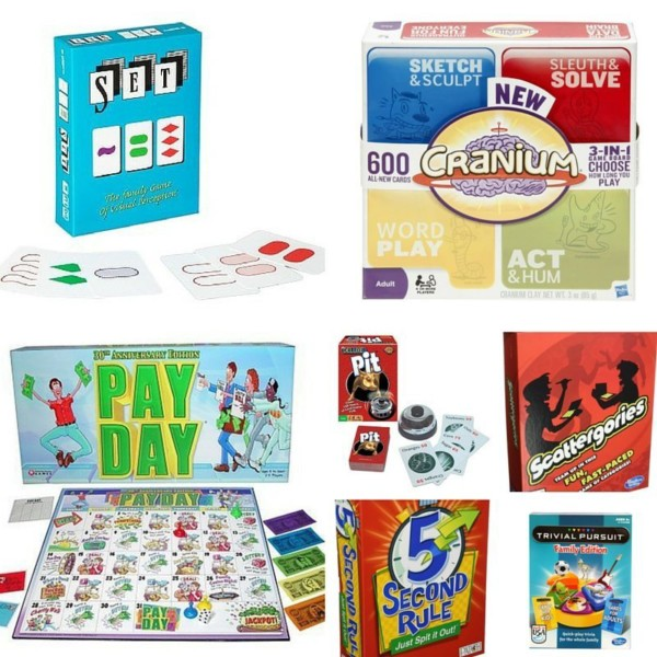 Games for older children and parents