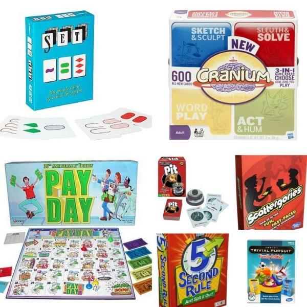 Games for older children and parents