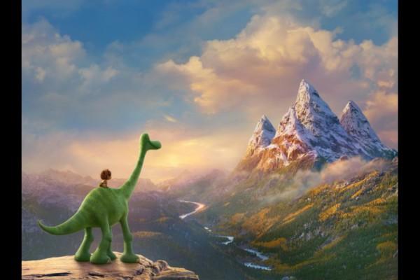 good dinosaur landscape mountains