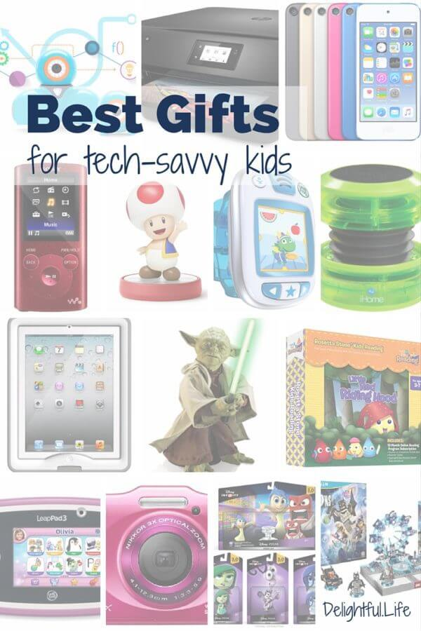 Tech Savvy Gifts best gifts for tech savvy kids • delightful life