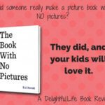 The Book with No Pictures by B.J. Novak {A (no) Picture Book Review}