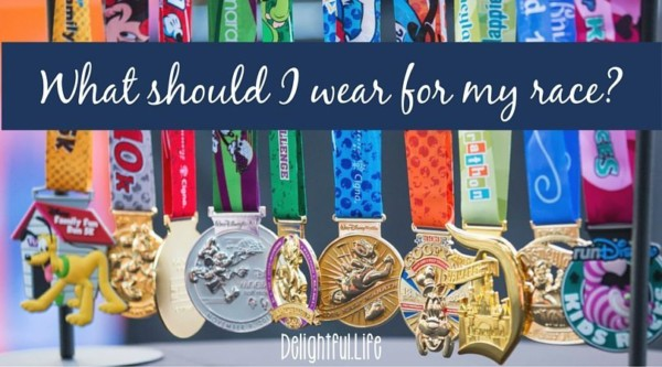 What should I wear for my race?
