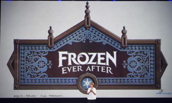 KATHY MANGUM presents Norway ride at D23 Expo