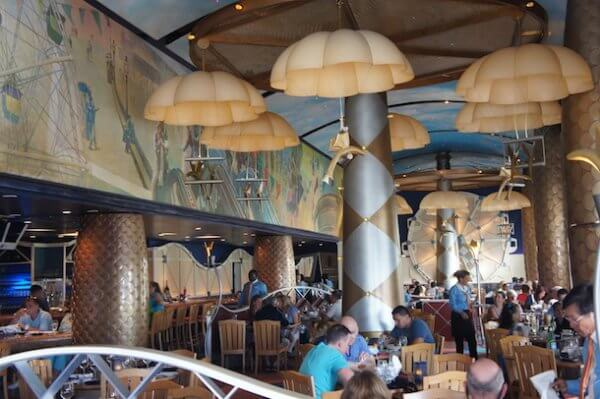 Date night on disney 39 s boardwalk delightful life for Flying fish cafe disney