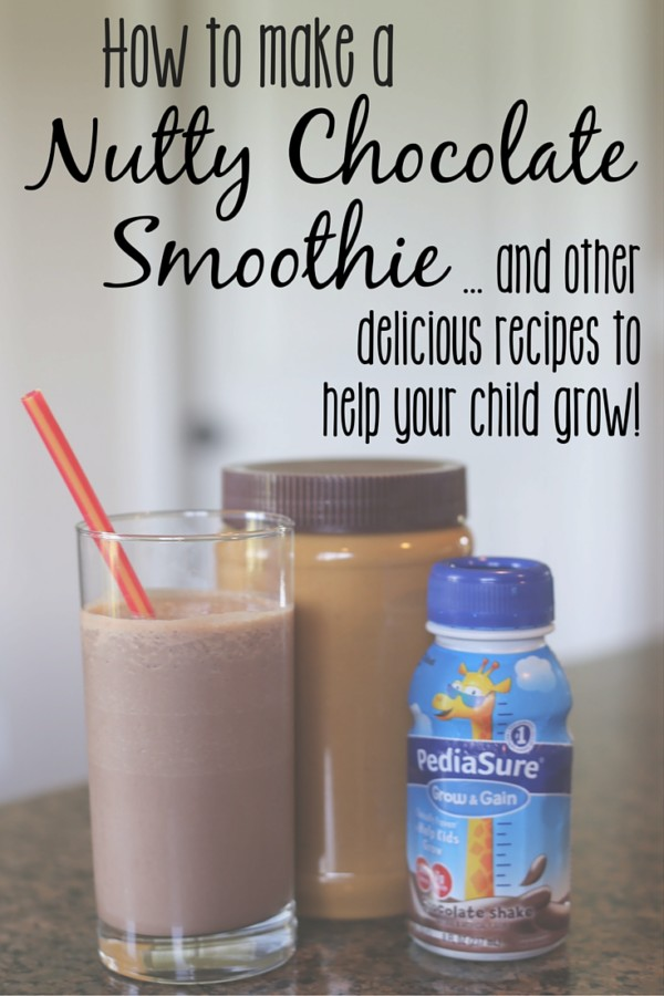 Nutty Chocolate Smoothie