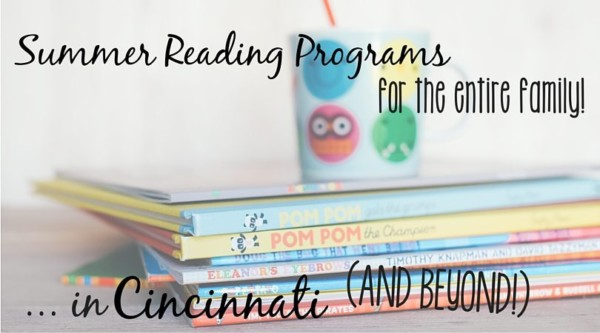 summer reading programs in cincinnati