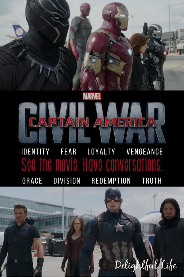 captain america civil war conversations
