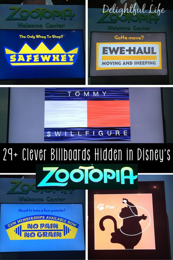 29+ Clever Billboards in Zootopia