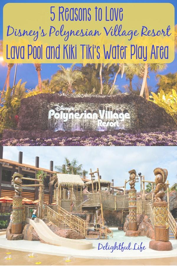 Polynesian Resort Lava Pool