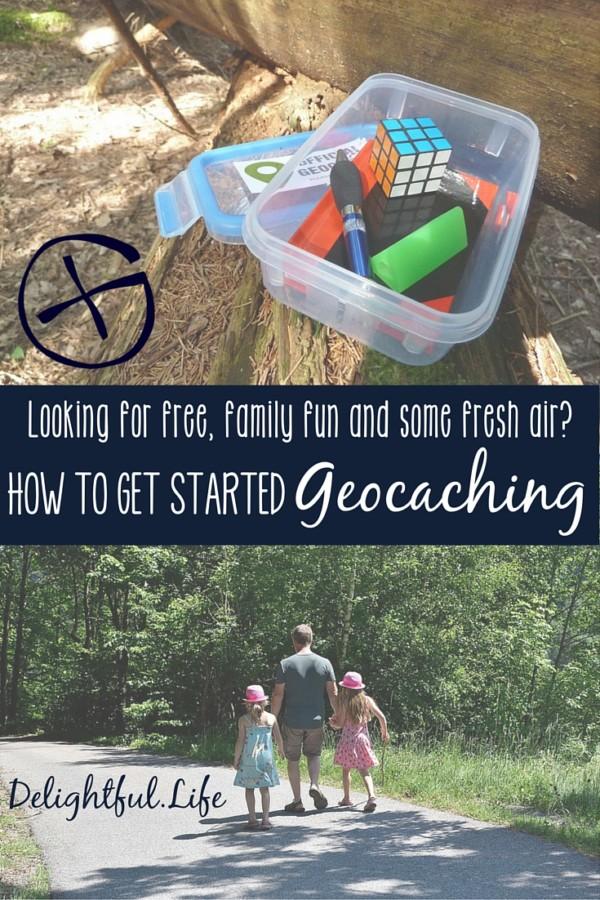 get started geocaching