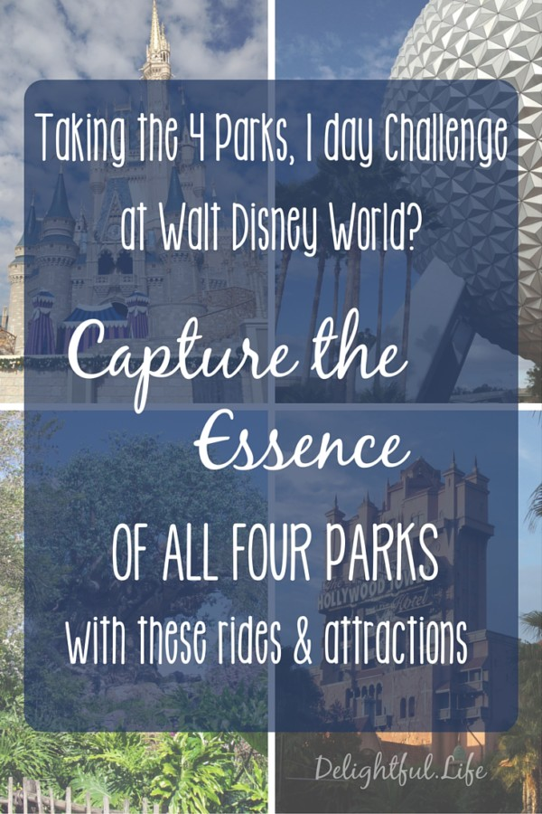 Taking the 4 Parks, 1 day Challenge?