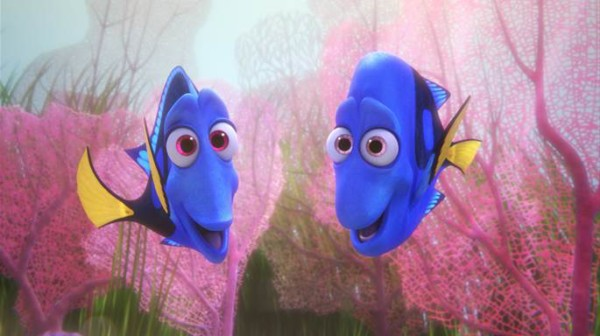 Charlie and Jenny, Dory's Parents (voiced by Eugene Levy and Diane Keaton). Image via Pixar