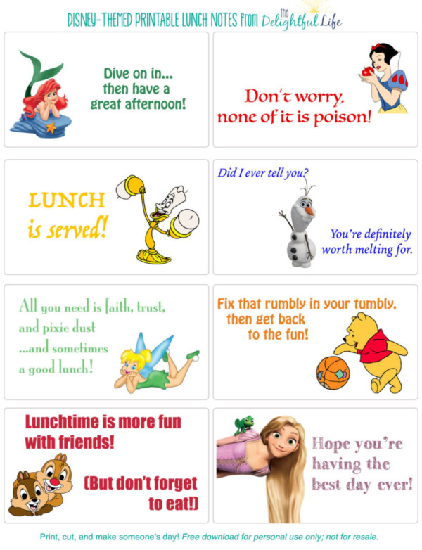 Disney-Printable-Lunch-Notes