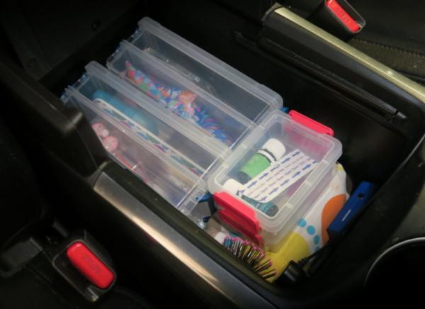 Organized Car Console