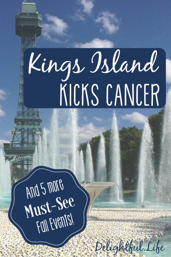 Kings Island Kicks Cancer Fall 2016