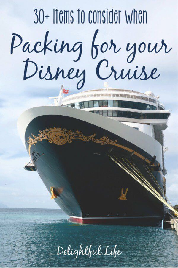 Cruising is different than land vacations, and Disney cruising has it's own extra unique qualities. Don't be caught without some of these things! Get our Disney Cruise Packing List now.