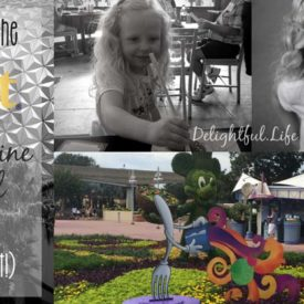 Epcot's Internatinal Food & Wine Festival with kids