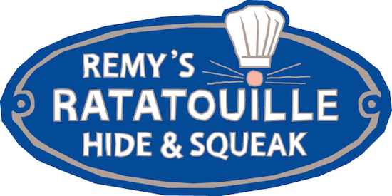 remy's hide & squeak logo from the Epcot International Food and Wine Festival