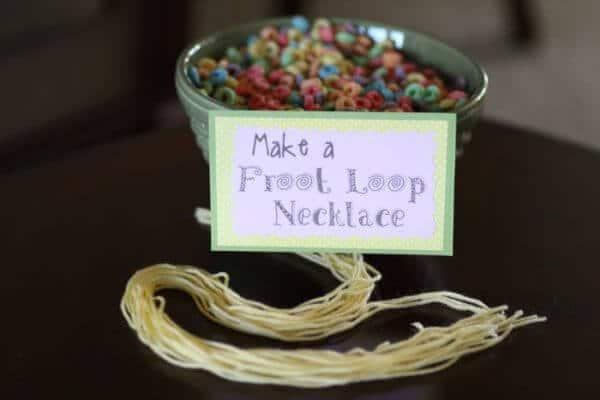 froot loop necklaces