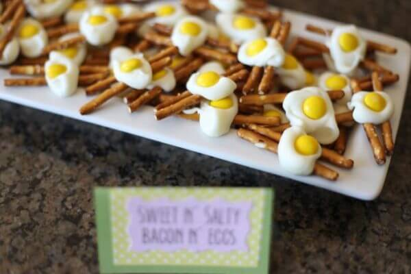 sweet salty bacon eggs
