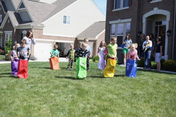 pillowcase sack races