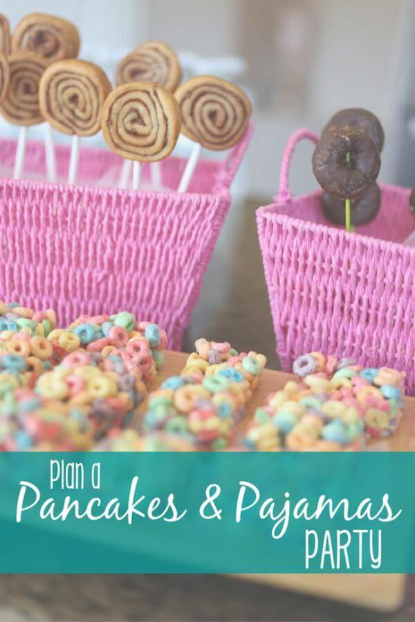 Throw the perfect Pancakes & Pajamas Party! | The Delightful Life