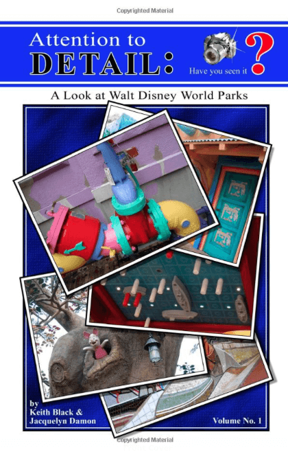 attention to detail WDW book
