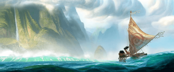early moana concept art