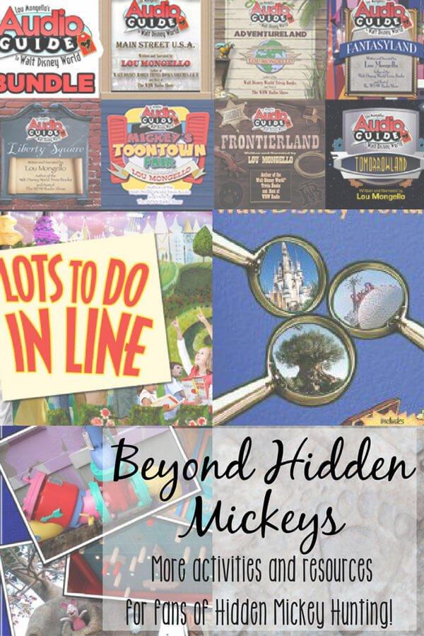 activities like hidden mickeys