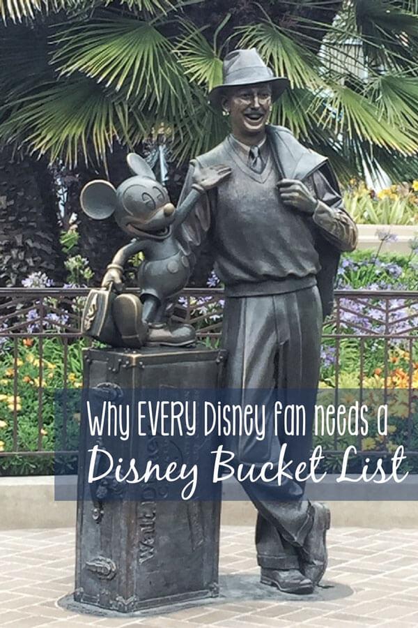 why-disney-bucket-list