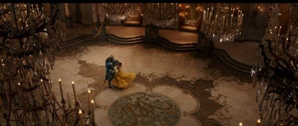 ballroom scene wide angle 2017 live-action Beauty and the Beast