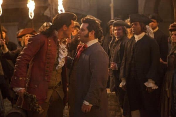 Gaston and Lefou 2017 live-action Beauty and the Beast