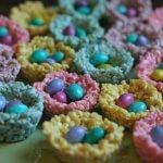 Peeps Rice Krispie Treat Nests