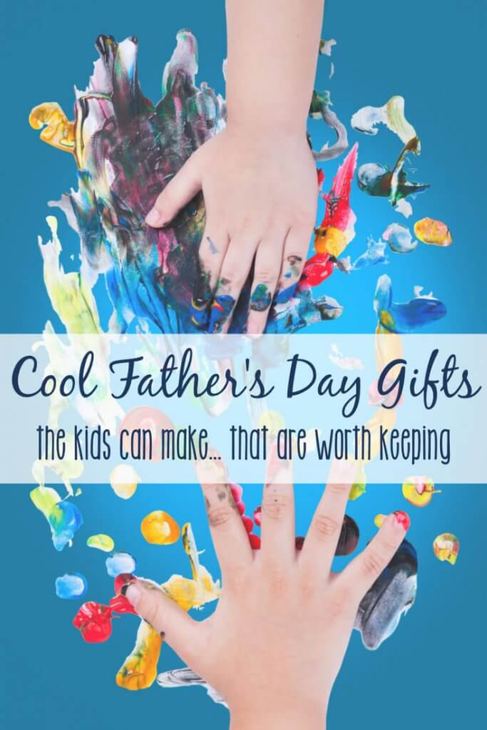 A handful of gifts that the kids can make for dad this year. If you're like us, it's hard to balance inspiring creativity with embracing minimalism (or at least a lack of clutter!). These gifts are practical and functional, but still DIY and fun for the kiddos to add their personal touch.