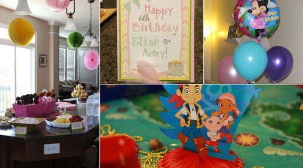 Disney Kids decoration examples