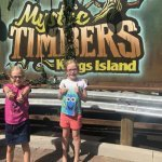 Mystic Timbers + Lunch with the Peanuts Gang = awesome new Kings Island fun!