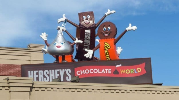 5 Super Sweet Attractions for Families at Hershey's Chocolate World