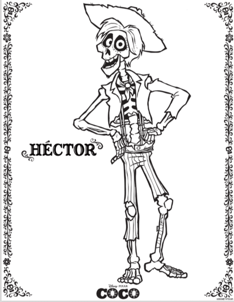 movie theme coloring pages - photo#12