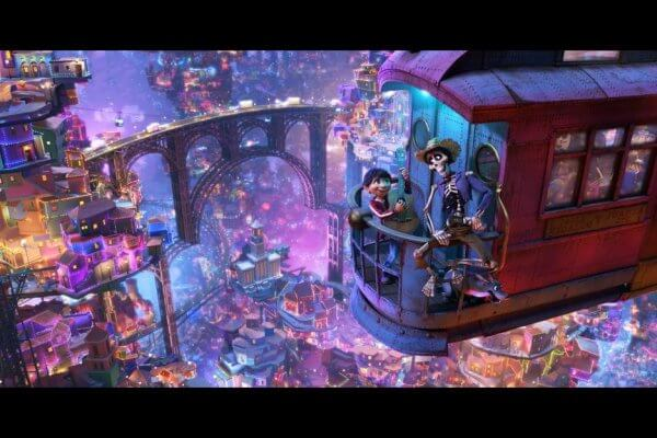 Land of the Dead in Pixar's Coco